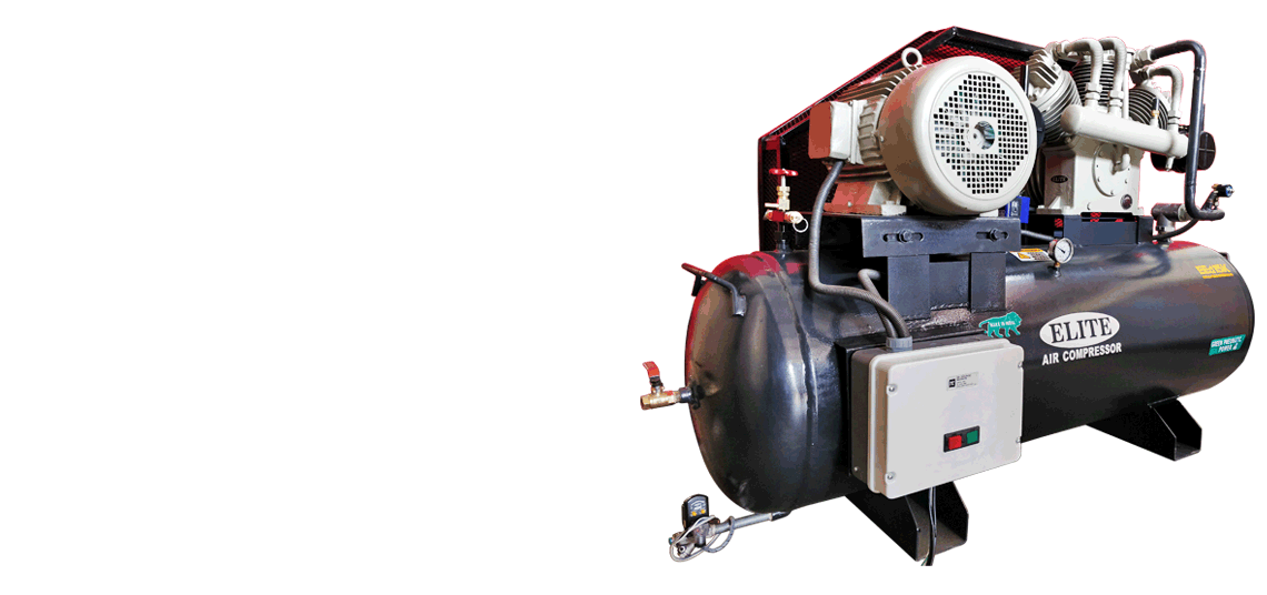 Industrial Air Compressor Single Two Stage Air Compressor Reciprocating Air Compressors manufacturers exporters India Punjab Ludhiana