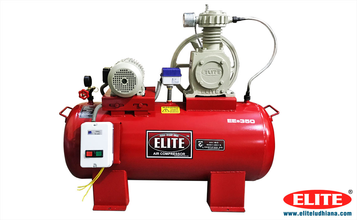 3HP Air Compressors Industrial Reciprocating Air Compressors Single Two Stage Air Compressor manufacturers exporters India Punjab Ludhiana