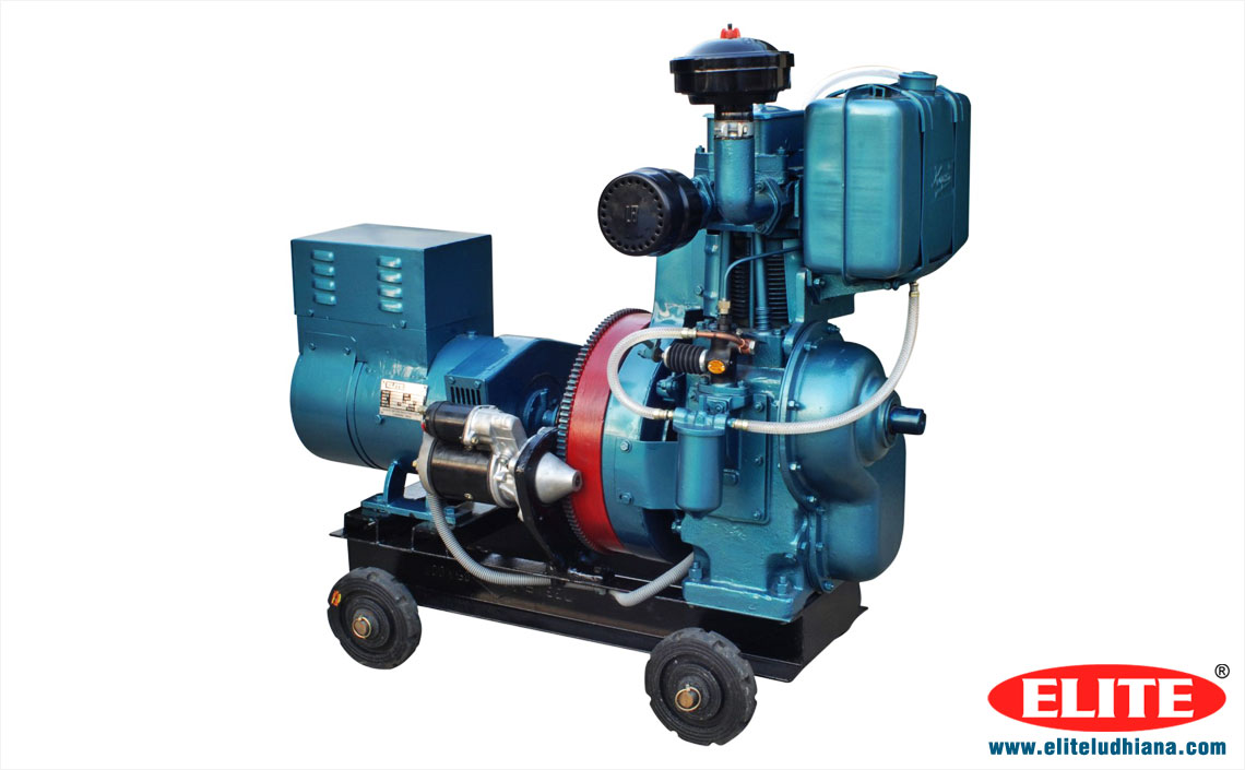 Diesel Engine Generators air Cooled Generators Silent Generators single Cylinder Electricity Generator manufacturers exporters India Punjab Ludhiana