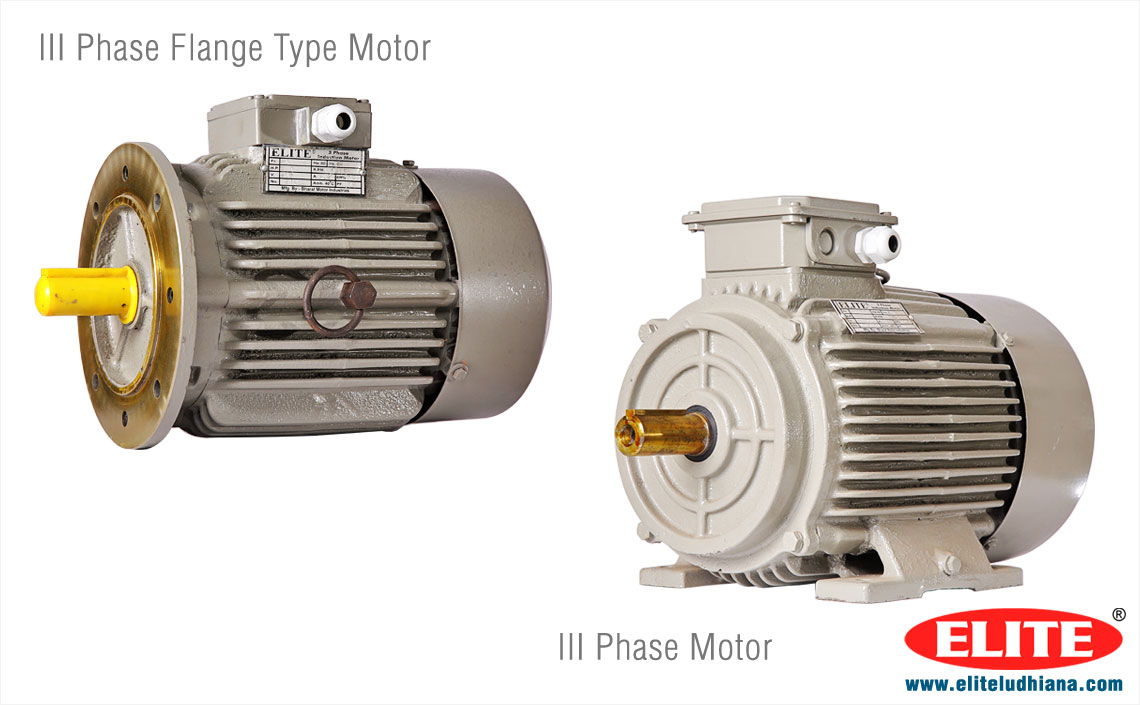 3 phase Electric Motors AC Three Phase Motors manufacturers exporters India Punjab Ludhiana